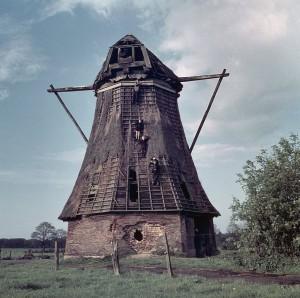 Molenromp 1959, vlak voor de brand